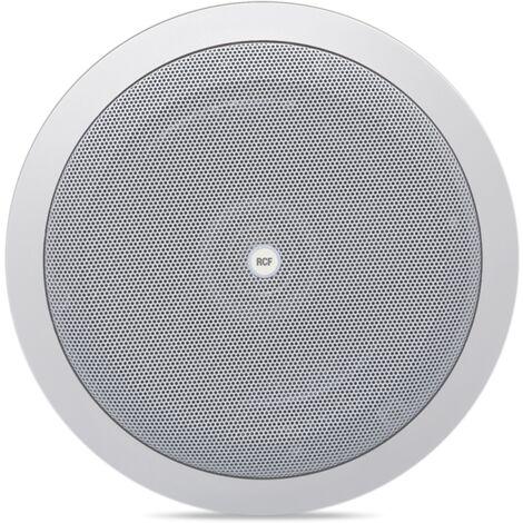 Système de haut-parleur RCF encastrable 12W 2 BROCHES de couleur BLANC 13133042 PL 6X
