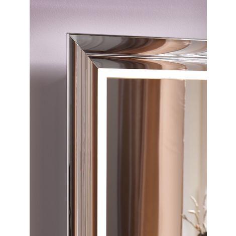 Système de meuble Emco touch 450 classic, poignée de porte droite, miroir, lave-mains, vasque, robinetterie, meuble-lavabo, Exécution: Cadre : noir, socle : noir - 954729400