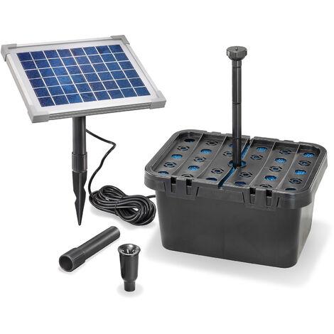 """main image of """"Système de pompe solaire avec boîte de filtration """"Turin-FEsotec"""""""