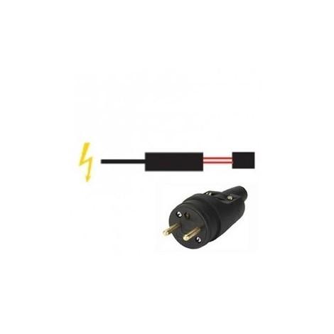 Système de raccordement pour câble auto régulant - Type S - Avec fiche mâle