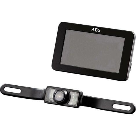Système de recul vidéo sans fil AEG RV 4:3 97153 lignes de guidage, compensation automatique des blancs noir 1 pc(s)