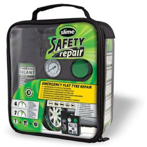 Systeme de reparation des pneus d urgence Slime Safety Repair
