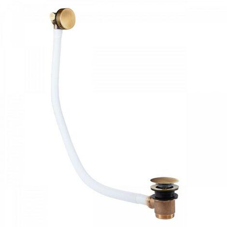 Système de vidage et de remplissage de baignoire, avec bonde ronde CASCADE et tr - TRES 03453430LV