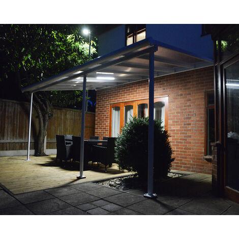 Système d'éclairage pour Serres, Couvre terasses, Verandas, Tonnelles et Carport