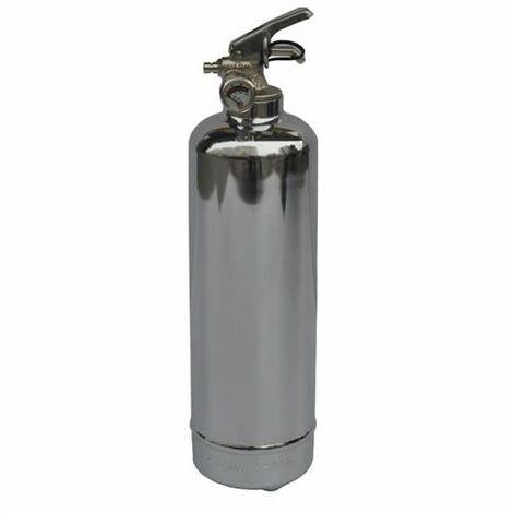 Système D'extinction D'incendie 1kg Poudre Abc - Chrome