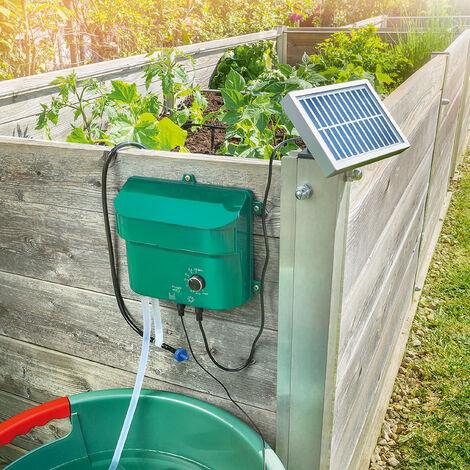 """main image of """"Système d'irrigation solaire Distributeur d'eau d'irrigation des plantes esotec 101100"""""""