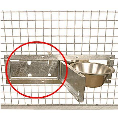 Système pivotant pour anneau support gamelle Désignation : OPTION Plaque de protection MORIN 290064