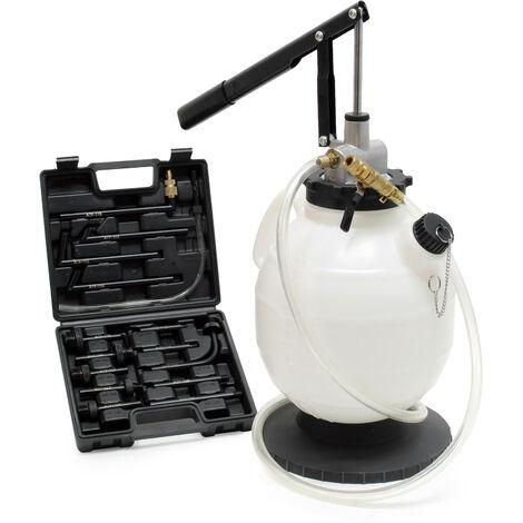 Système Remplissage d'huile Boite de vitesses 7L Pompe manuelle 15 Adaptateurs inclus ATF Vidange
