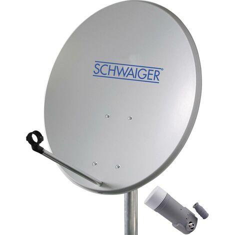Système SAT sans récepteur Schwaiger SPI5500SET1 Nombre dabonnés: 1