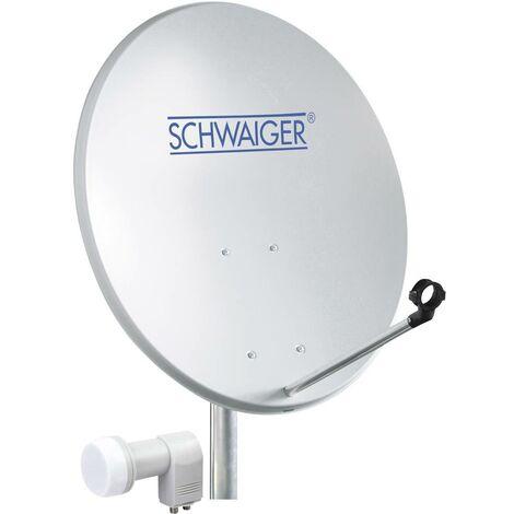 Système SAT sans récepteur Schwaiger SPI5500SET2 Nombre dabonnés: 2