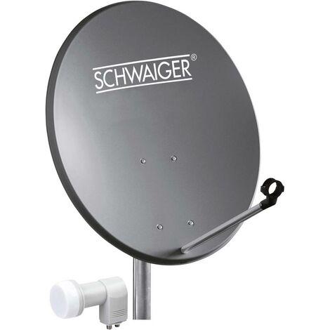 Système SAT sans récepteur Schwaiger SPI5501SET2 Nombre dabonnés: 2