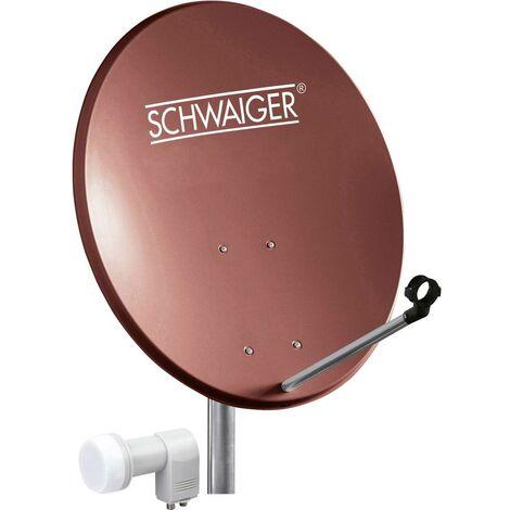 Système SAT sans récepteur Schwaiger SPI5502SET2 Nombre dabonnés: 2
