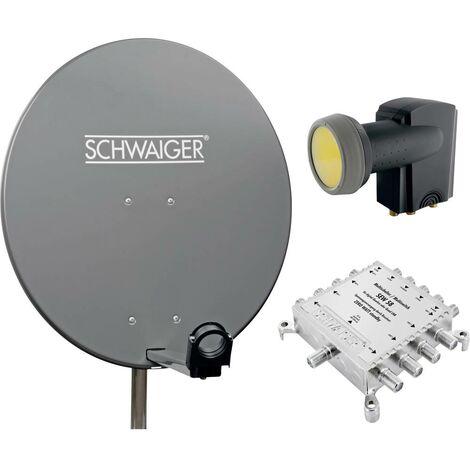 Système SAT sans récepteur Schwaiger SPI9961SET5 Nombre dabonnés: 6