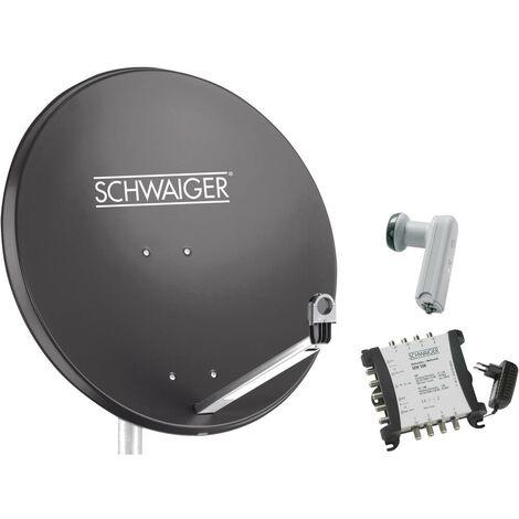 Système SAT sans récepteur Schwaiger SPI9961SET6 Nombre dabonnés: 8