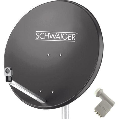 Système SAT sans récepteur Schwaiger SPI9961SET9 Nombre dabonnés: 4