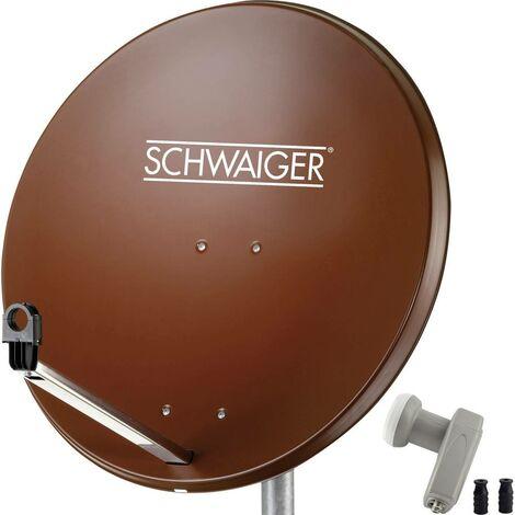 Système SAT sans récepteur Schwaiger SPI9962SET2 Nombre dabonnés: 2