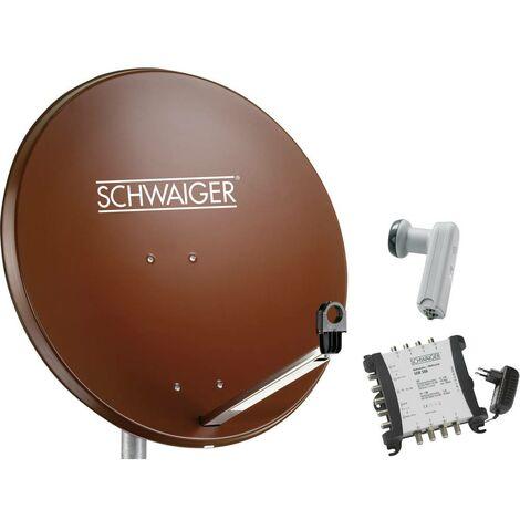 Système SAT sans récepteur Schwaiger SPI9962SET6 Nombre dabonnés: 8