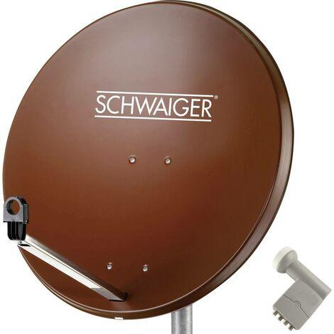 Système SAT sans récepteur Schwaiger SPI9962SET9 Nombre dabonnés: 4