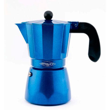 T-CAFETERA INDUCCION OROLEY BLUE 12 TZ.