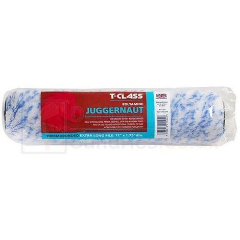 T-Class Juggernaut Extra Long Pile Roller Sleeve (9inch) (Blue/White)