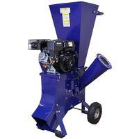T-Mech - Trituradora de Ramas 6,5HP Gasolina para Destrucción de Ramas, Ramitas y Hojas para Jardineros Profesionales, Paisajistas y Aficionados
