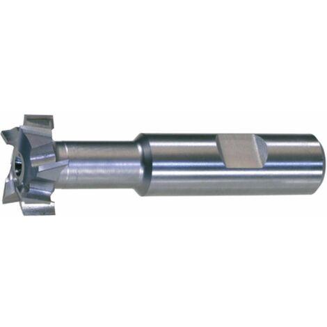 T-Nutenfräser HSSE5 DIN 851 N Größe 20-36x16 mm T