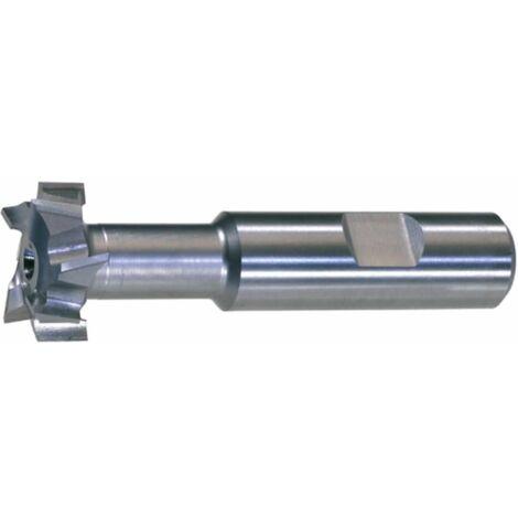 T-Nutenfräser HSSE5 DIN 851 N Größe 24-45x20 mm T