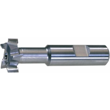 T-Nutenfräser HSSE5 DIN 851 N Größe 8-16x8 mm Typ