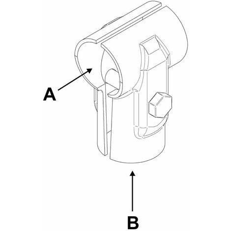 "60,3 mm Verschlusskappe aus Kunststoff 2/"""