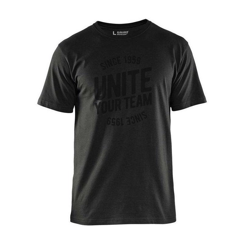 T-shirt de travail Unite Edition Limitée Noir L - Blaklader
