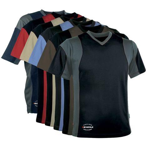 T-Shirt de travail Cofra Java Corde S