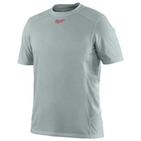 T-shirt respirant été - Gris Manches Courtes | WWSSG - Milwaukee | XL