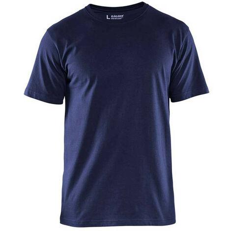 T-Shirts pack x 5 - 3300 Jaune fluo - Blaklader