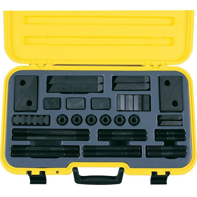 Image of 071/102 TK12 M12-14MM T-Slot Clam Ping Kit (58-PC) - Indexa