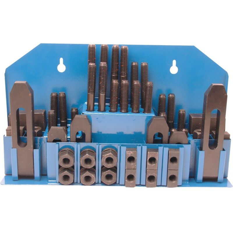 Image of 1/2'X3/8'X16TPI T-Slot Machine Clamp Set - Atlas Workholders