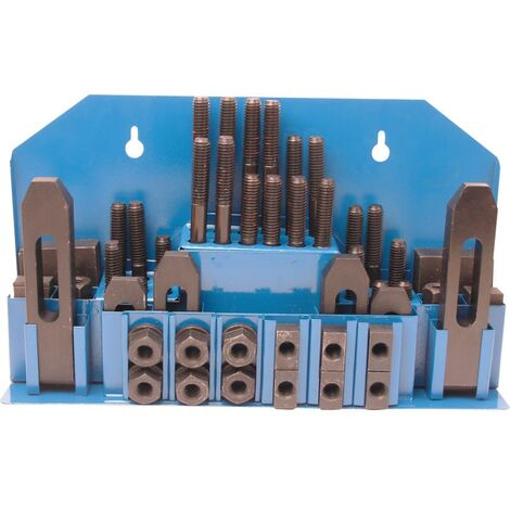 T-Slot Steel Clamping Sets - Metric