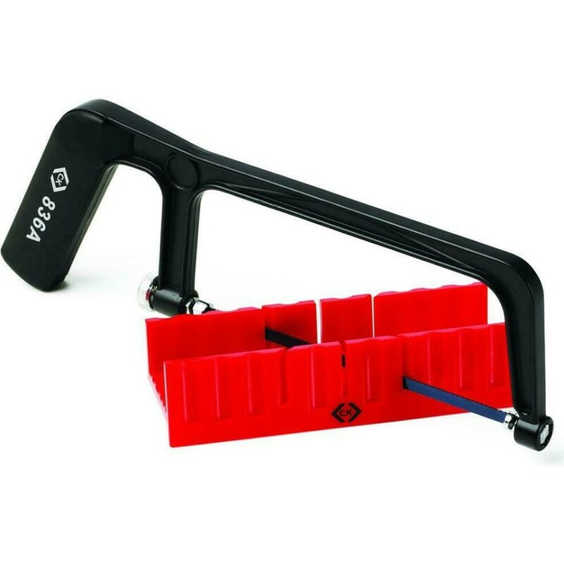 Image of 6 Inch 150mm Junior Saw Mini Hacksaw with Mitre Box T0837 - C.k Tools