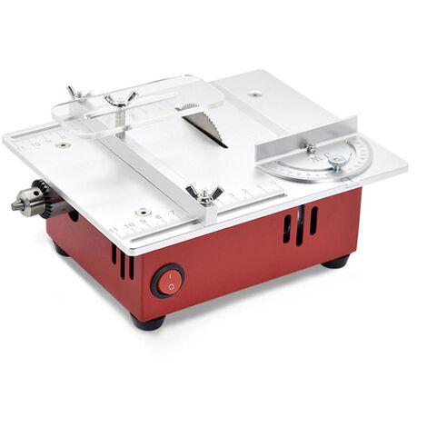 T30 Mini Multifonctions Table-Scie Electrique De Bureau Scies Petit Menage Bricolage Outil De Coupe Du Bois Machine Lathe