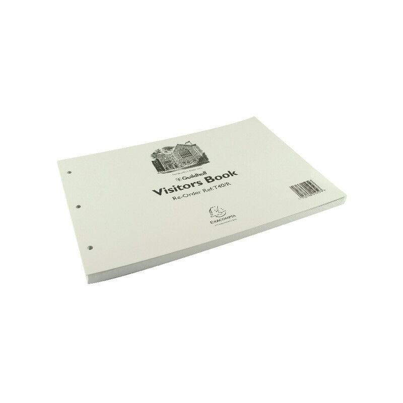 Image of T40/R Visitor Book Refill A4 (Pack-50) - Guildhall