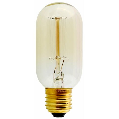 T45 E27 60W Dimmable Filament Dimmable Incandescent Bulb