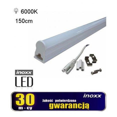 T5 fluorescente del LED 22w 6000k 150 centimetri superficie della lampada Fredda montato integrato con l'alloggiamento