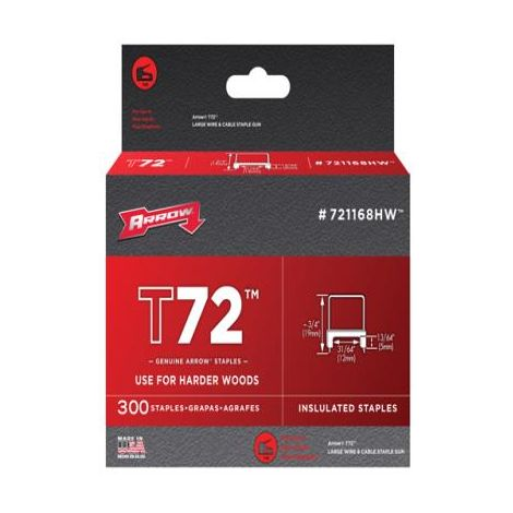 T72 Insulated Staples