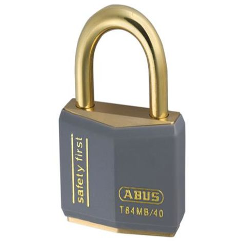 T84MB/40KA Lock-Off Brass Key Padlocks