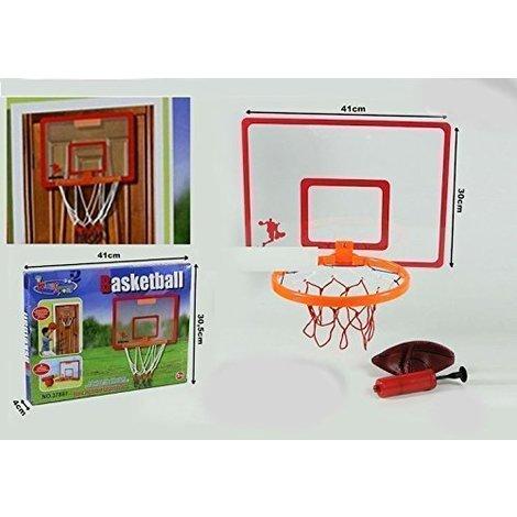 c4e9c510e917 Tabellone per Appendere in Casa da Basket Pallacanestro con Palla e  Gonfiatore