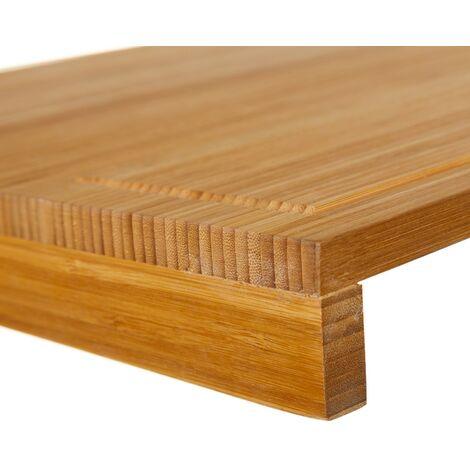 Tabla de madera adaptable al fregadero