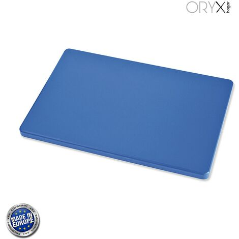 Tabla Cortar Polietileno 35x25x1,5 cm. Color Azul