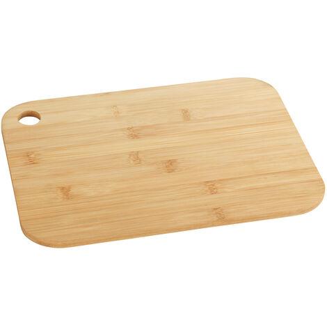 Tabla de cortar bambú S