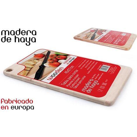 Tabla Para Cortar De Madera 45x27cm Wooden