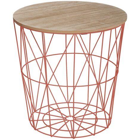 Table à café Kumi terracotta - Rouge