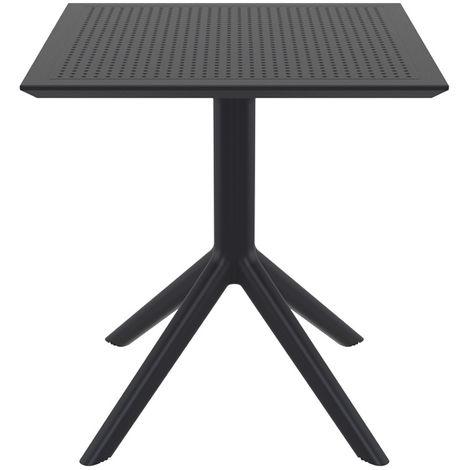 Table à manger carrée design intérieur / extérieur OSKOL